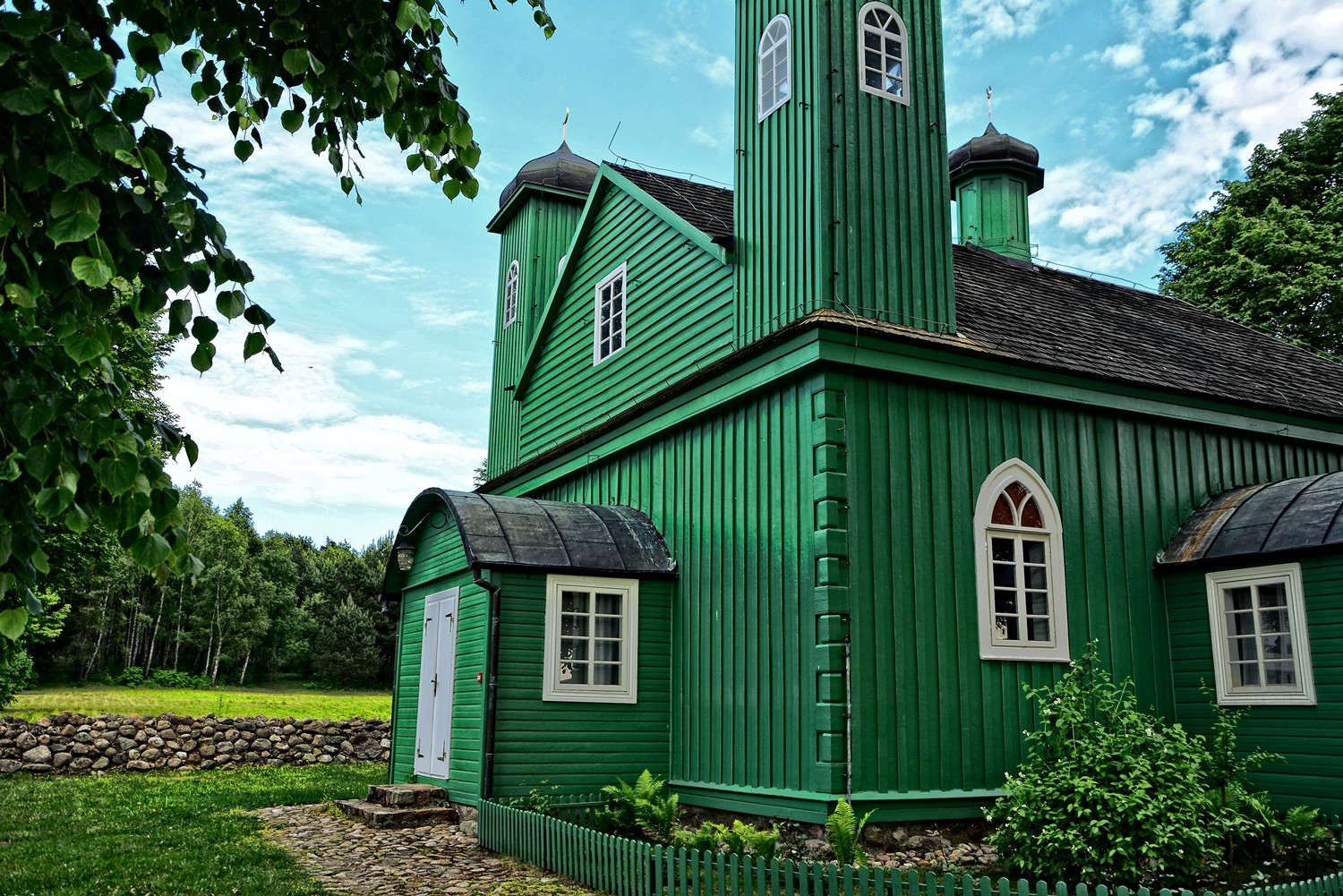 kruszyniany mosque green mosque in poland
