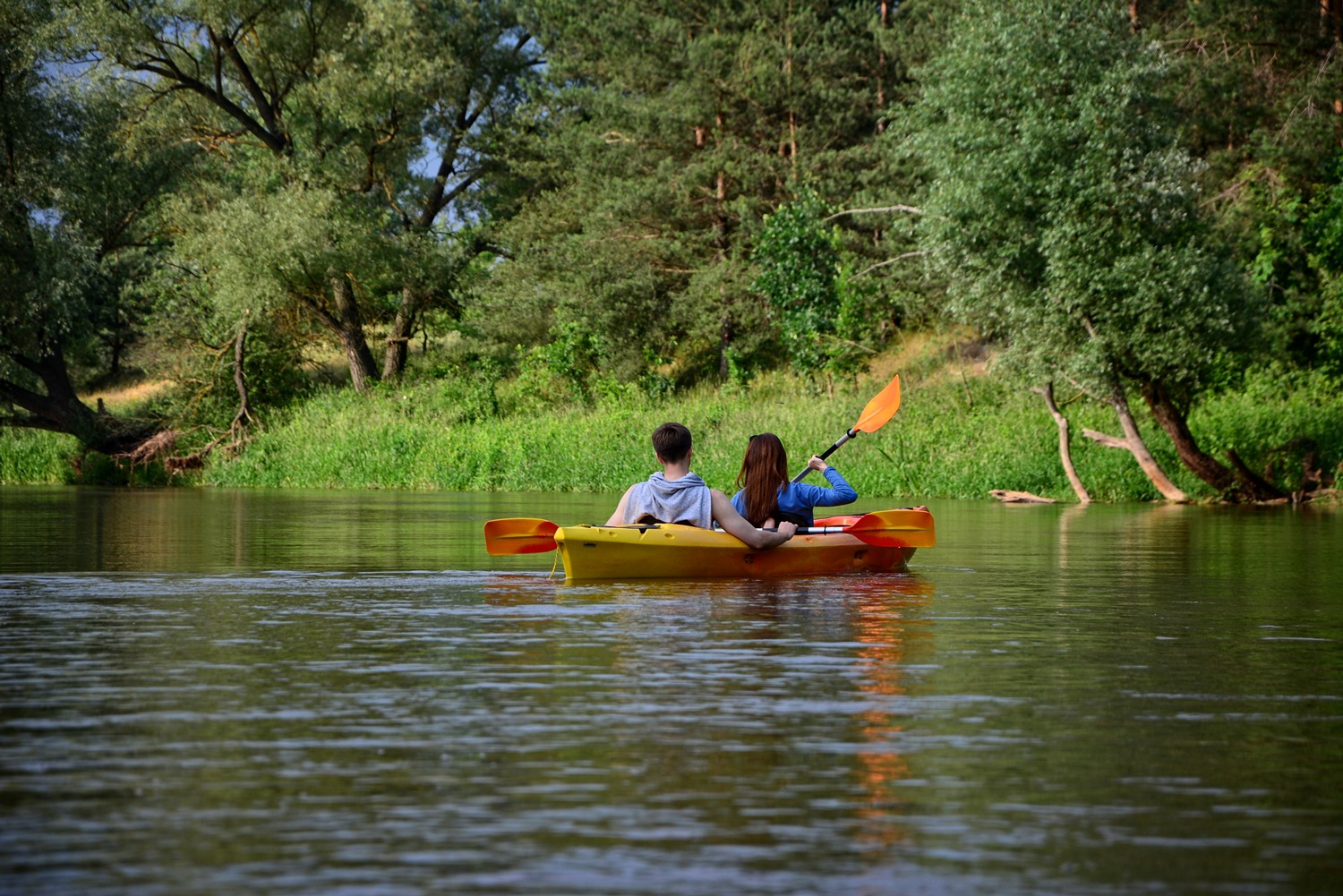 Where to go kayaking near Warsaw