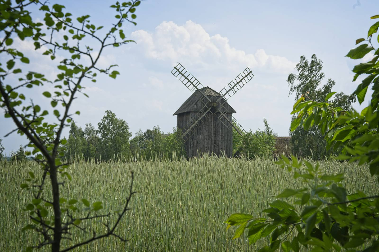 witcher real life locations windmills poland