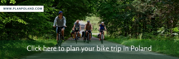 plan bike trip in poland
