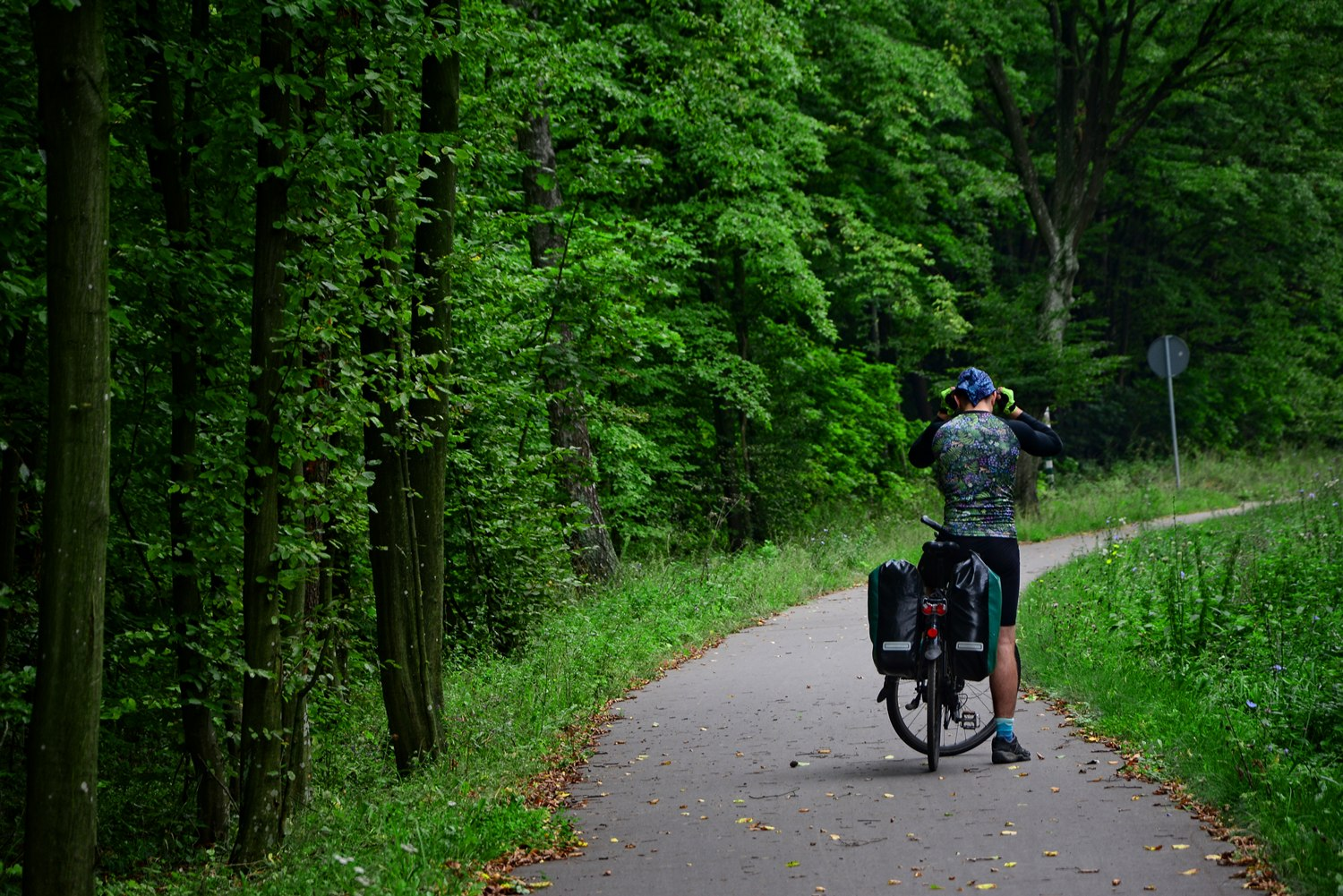 Polish bike trails sport in poland