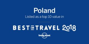 Poland in Lonely Planet top 10