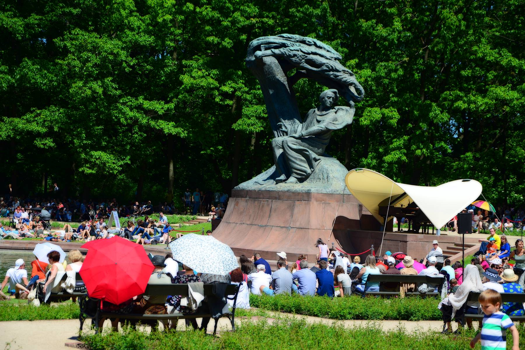 chopin concert royal gardens lazienki
