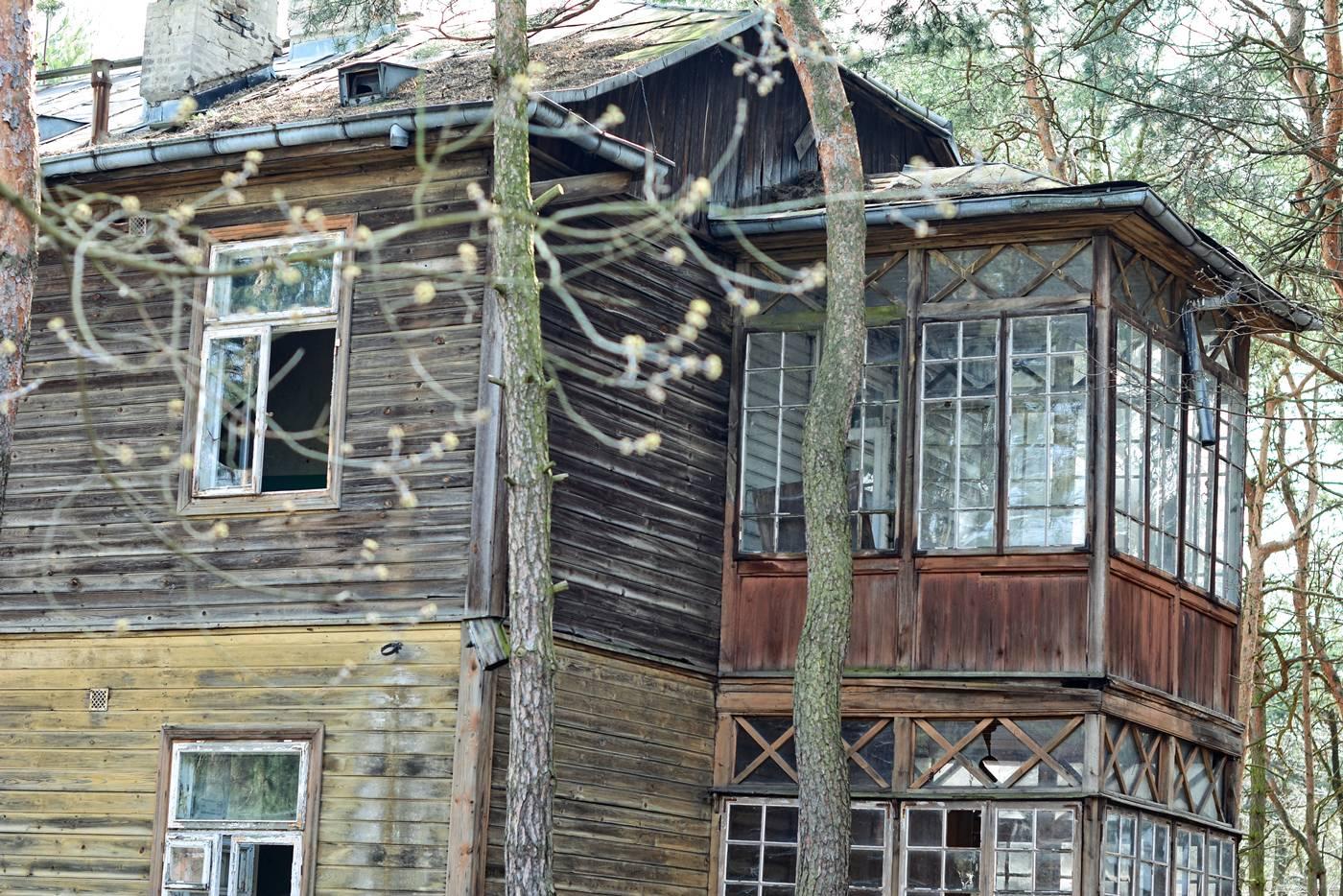 otwock jozefow wooden architecture swidermajer