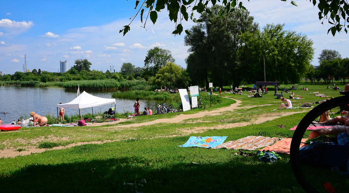 warsaw for hot day lakes in warsaw