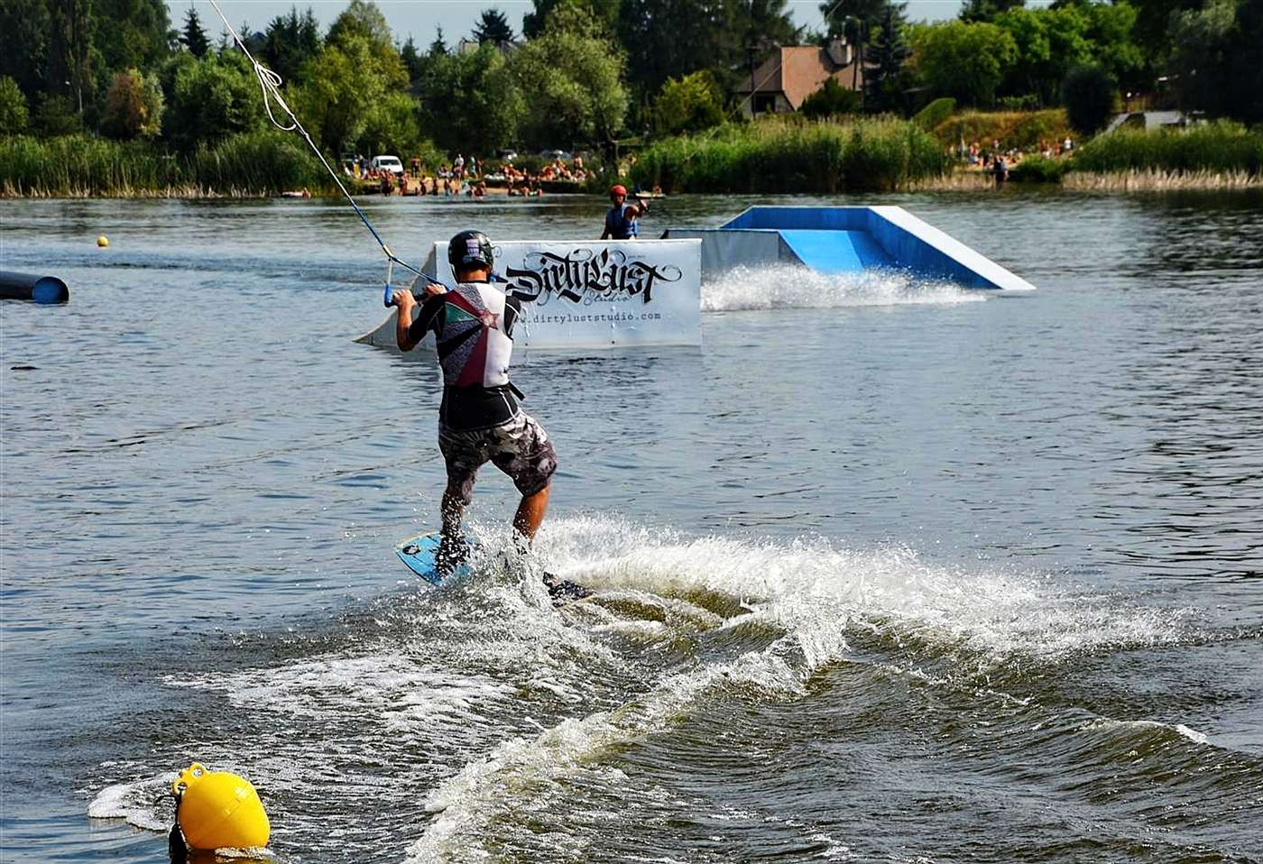 wakeboarding in warsaw lakes around warsaw