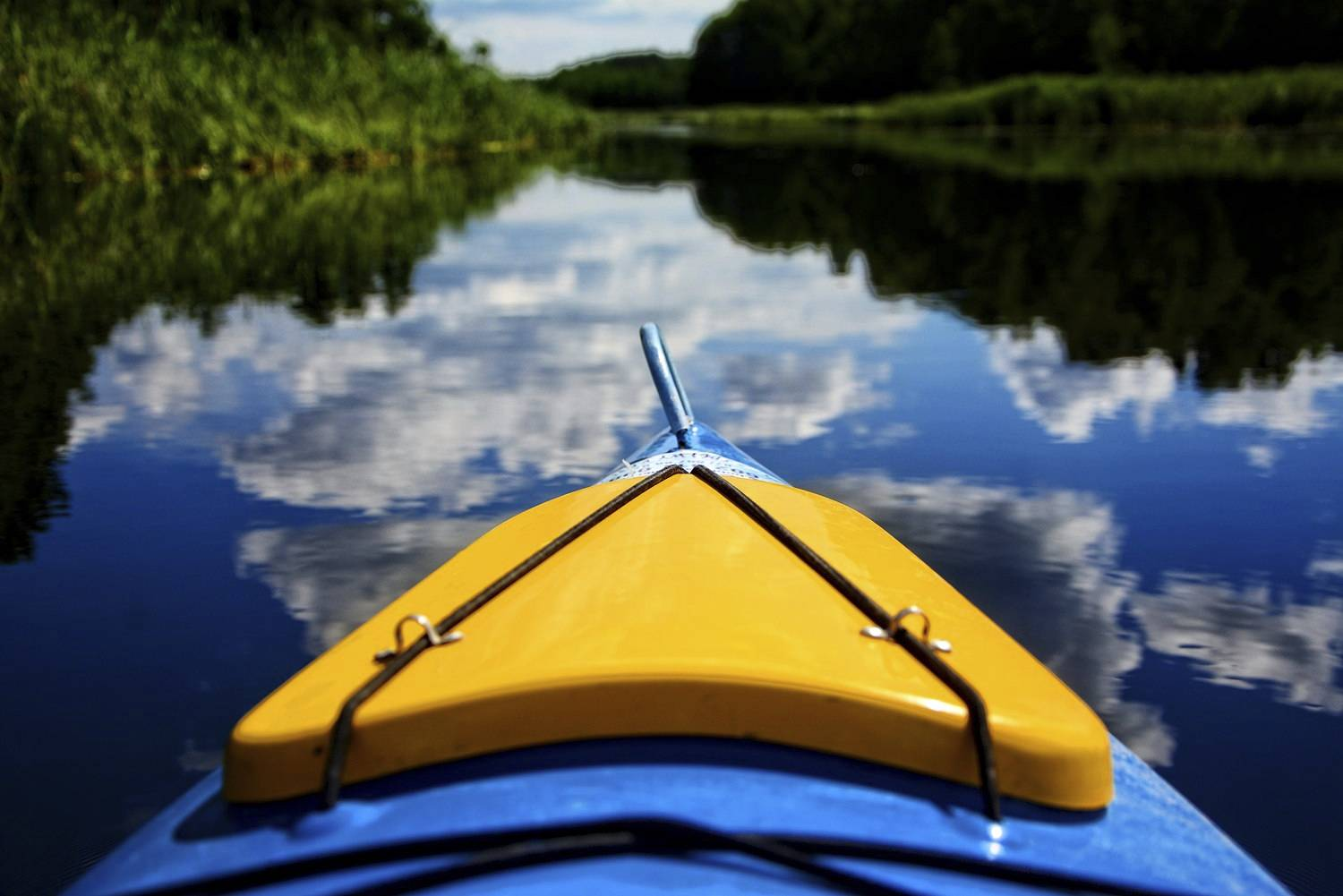 5 Perfect spots for kayaking trip in Northern Poland