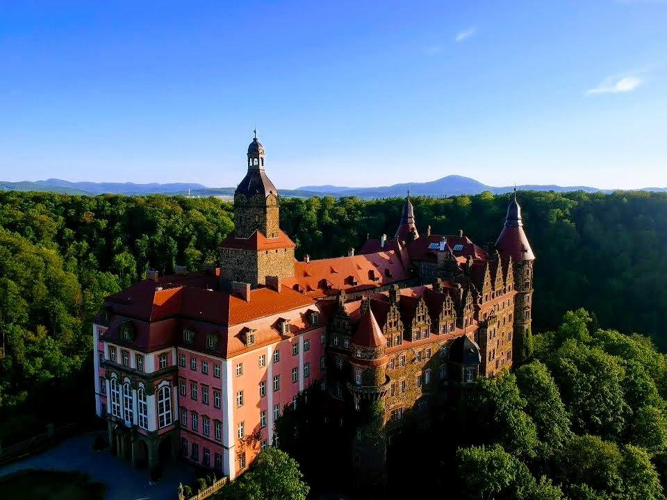 caastle ksiaz zamek ksiaz castles in poland castle in walbrzych lower silesia