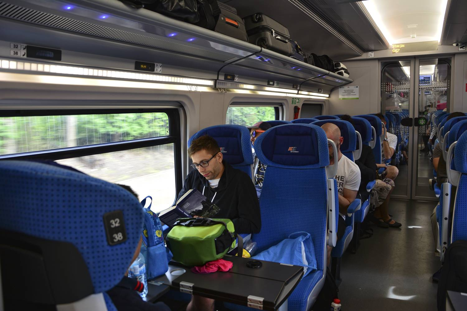 how to book polish trains inside intercity train in poland how trains in poland look like