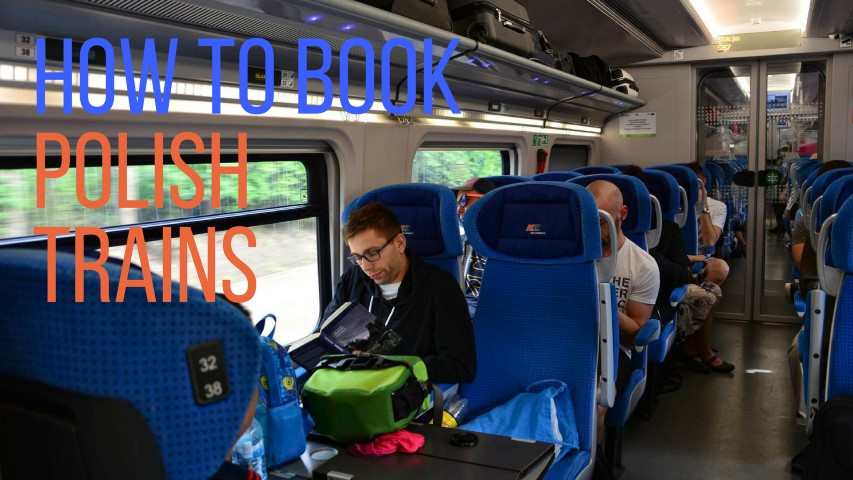 how to book polish trains booking trains in poland