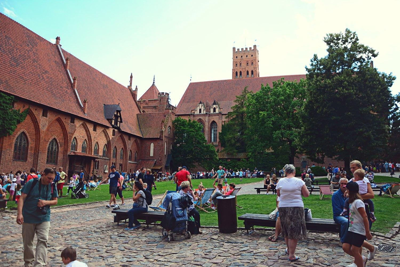 inside malbork castle landmarks in poland castles in poland visit in malbork