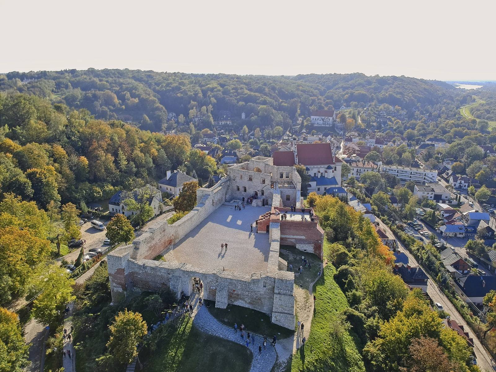 Most beautiful polish town castle in kazimierz dolny famous polish cities