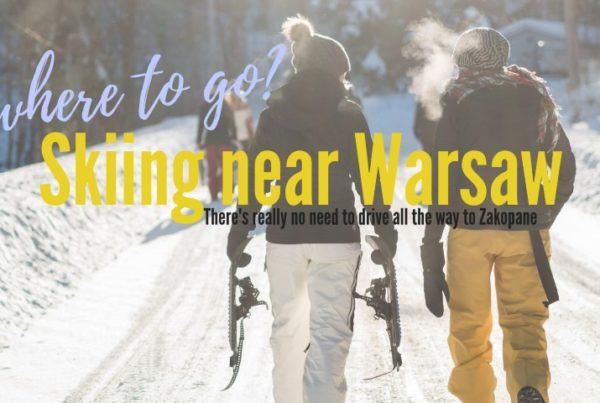 skiing near warsaw ski resorts near warsaw poland