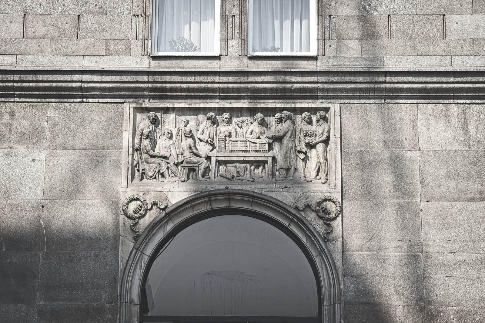 socrealism in warsaw plac konstytucji