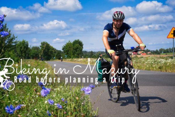 biking in mazury olsztyn gizycko