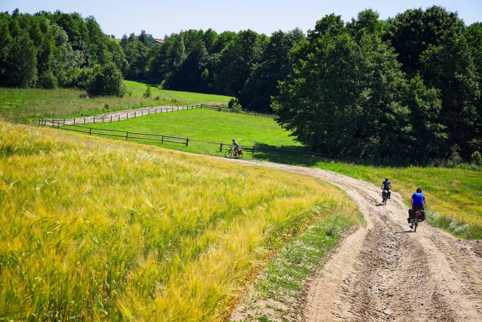mazury lakes bike trip