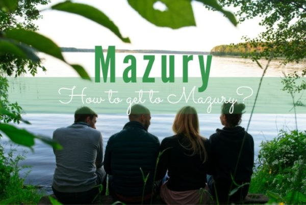 how to get to mazury towns cities in mazury