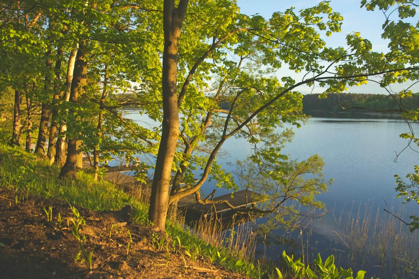 lake zbiczno brodnica lakeside