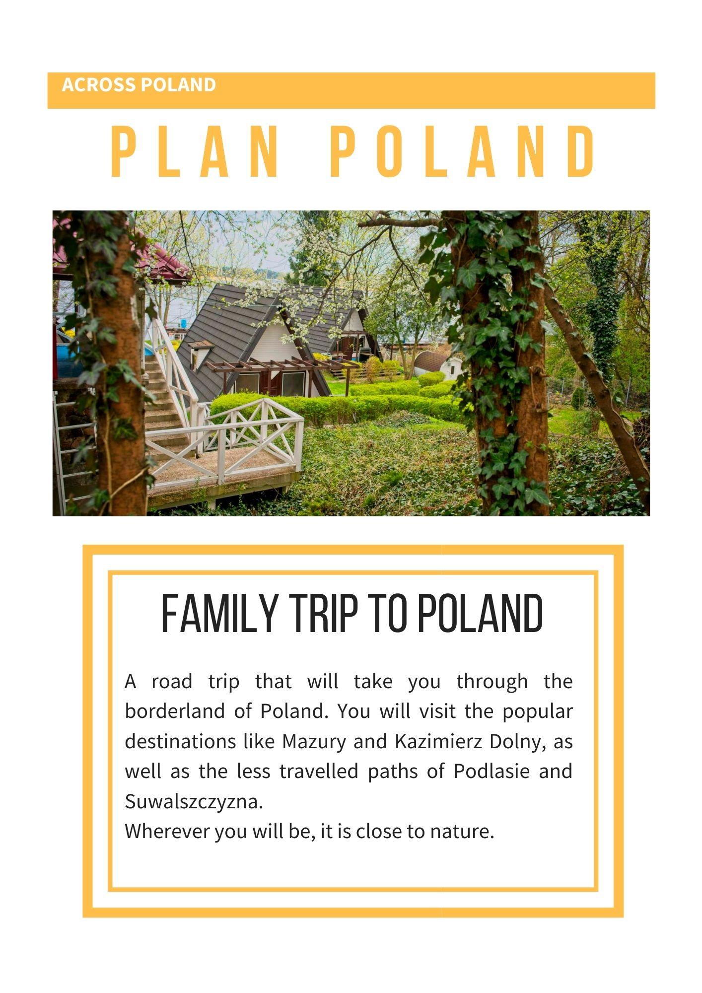 travel plan poland self guided tour